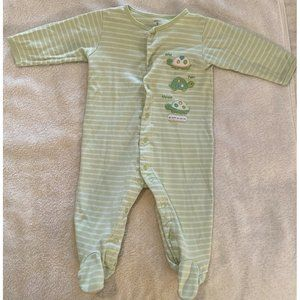 Carter's 9 Month Turtle Footed Pajama Unisex
